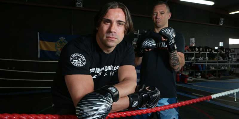 Perth family lawyer all set for his first MMA fight