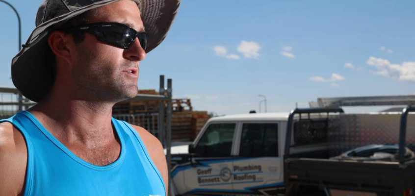 Geoff Bennet, a local Plumber, Loses $100,000 as GJ Gardner Collapses